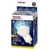 東芝(TOSHIBA) LED電球 ハロゲン電球形 200lm(電球色相当)TOSHIBA E-CORE(イー・コア) 中角20度 LDR6L-M-E11 LDR6L-M-E11 口金直径11mm