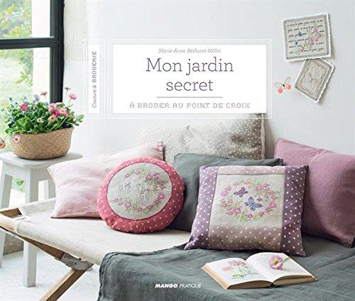 MANGO <Mon jardin secret> クロスステッチ図案集-フランス語