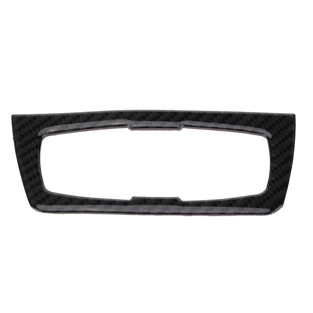 A KIMISS Carbon Fiber Car Interior Center Headlight Switch Frame Cover Trim for F30//34
