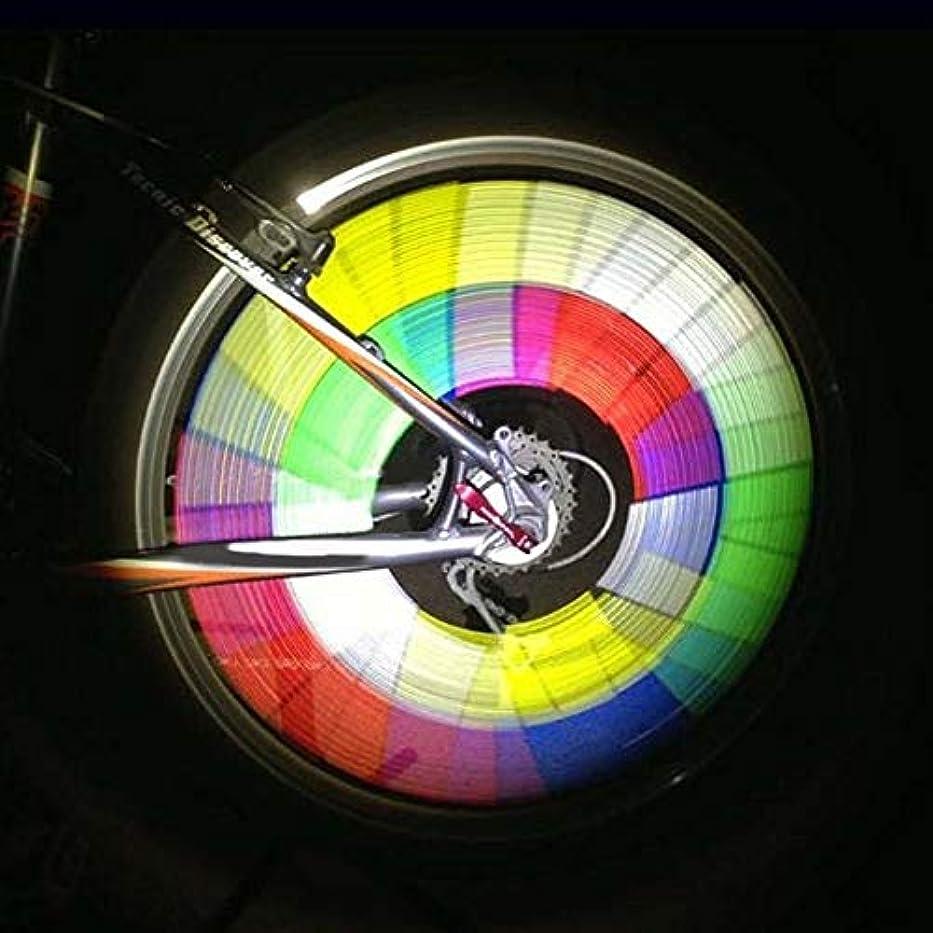 疎外裏切り医学12本 セット自転車ライト 反射クリップ テールライト ホイールライト 6色 夜間 安全警告ライト 事故防止 簡単取り付け 防水