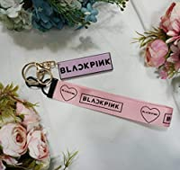 BTS 防弾少年団 Wannaone TWICE BLACKPINKグッズ / イニシャル ロゴ キーホルダー キーリング - Key Chain Ring K-POP (BLACKPINK)