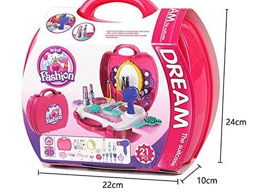 おもちゃOuTera メイクおもちゃ 子供玩具 知育おもちゃ 女の子プレゼントにおすすめ 21点セット