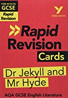 York Notes for AQA GCSE (9-1) Rapid Revision Cards: The Strange Case of Dr Jekyll and Mr Hyde