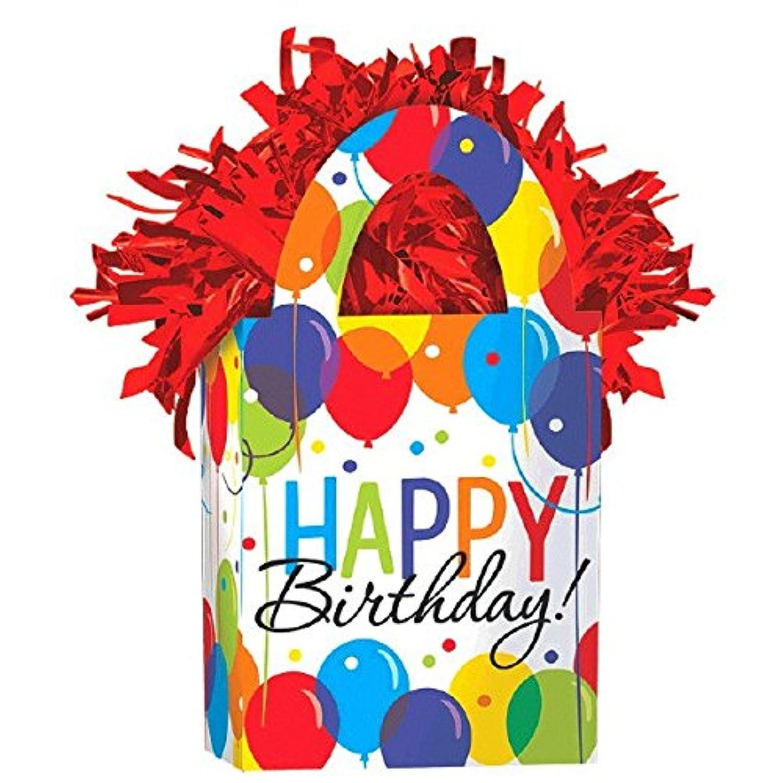 バルーンBash Miniトートバッグ誕生日パーティーバルーン重量装飾、カードストック、5.7 Oz。。