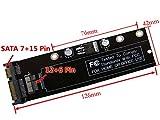 Sourcingbay 12+6ピンSSD HDD → Sata 22ピンアダプターカード 2010 2011 Macbook Black FA対応 (¥ 1,899)