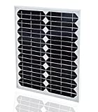 XINPUGUANG 20W 18V 単結晶シリコンソーラーパネル ソーラー充電ボード 街灯、芝生のライト、照明、元の付属品の使用料 [並行輸入品]