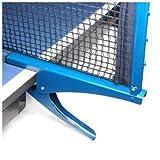 スポーツ用品,SODIAL(R)ピンポン卓球クランプポストスタンド ネットセット付き