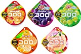 UHA味覚糖 コロロ 最新5種セット 【マンゴー・グレープ・マスカット・国産白桃・三ヶ日みかん】(各種1個/計5個)