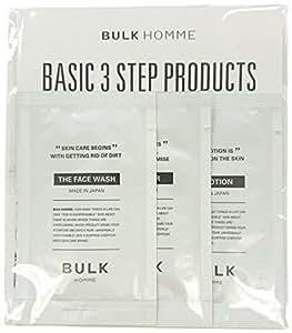 バルクオム フェイスケア基本3点セット(メンズスキンケア) 洗顔&化粧水&乳液(ミニ製品)
