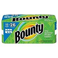 Bounty select-a-size紙タオル、ホワイト(15ジャンボロール)