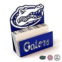 Gameday Ironworks Florida Gators スチールビジネスカードホルダー