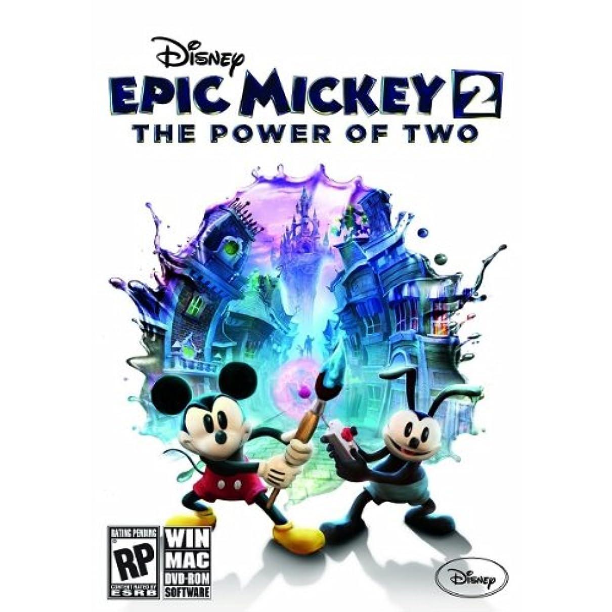 誤解するるテザーPC Epic Mickey 2: The Power of Two アジア版