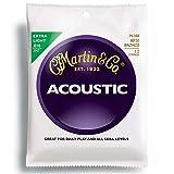 MARTIN M180 Extra Light 12 Strings 10-47 12弦アコースティックギター弦×3SET