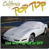 Corvette Coupe ( 1983–1996)デュポンタイベックPoptopサンシェード、内部、コックピット、カーカバー。Use with Top Onまたはオフ–Sema Show新しい製品Award Winner、c4,1983,1984,1985,1986,1987,1988,1989,1990,1991,1992,1993,1994,1995,1996