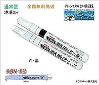 工業用消えないマーカー中・FA-KGM-1W10-02HJ (通常便) (白1本・黒1本)
