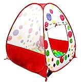 JISILI テント 子供用ボールハウス 専用収納ケース付き キッズ 幼児 ベビー用 室内 室外 テント 秘密基地