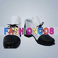 ★サイズ選択可★女性22.5CM UA0857 黒執事Ⅱ シエル・ファントムハイヴ コスプレ靴 ブーツ