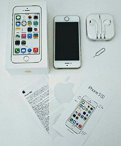 アップル 白ロム docomo iPhone5S 64GB ゴールド ME340J/A