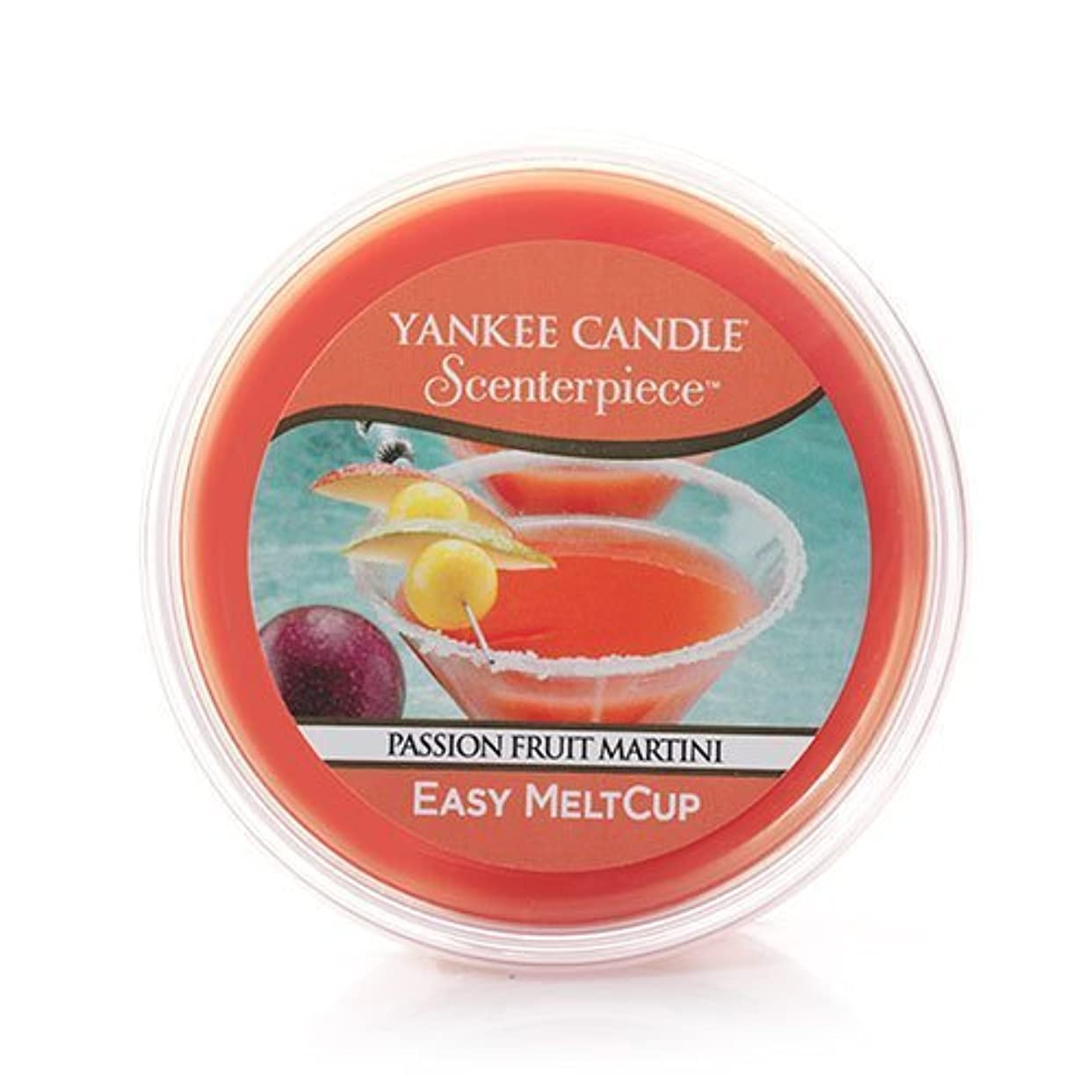 現在分類する一般化するYankee CandleパッションフルーツMartini Scenterpiece Easy MeltCup 2.2 Oz