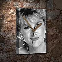 ANTHEA TURNER - キャンバス時計(LARGE A3 - アーティストによる署名入り) #js002