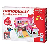 ナノブロックプラス ハローキティ ピンクのおおきなカフェ PK-007