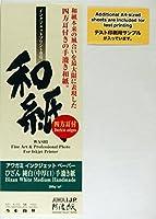 Awagami BizanホワイトMediumハンドメイド200インクジェット用紙( 42972100) 13x 19