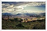 スペイン身長ルック風景46290のティンサイン 金属看板 ポスター / Tin Sign Metal Poster of Spain Height Look Landscapes 46290