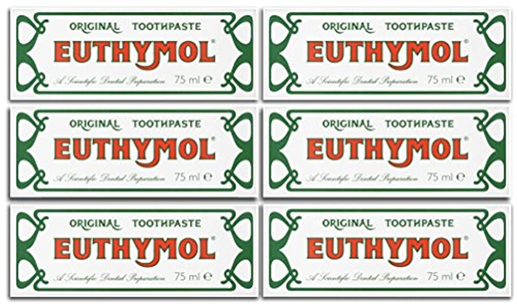 疑わしいマトロンホールドオールEuthymol Original Toothpaste 75ml (Case Of 6) by Euthymol