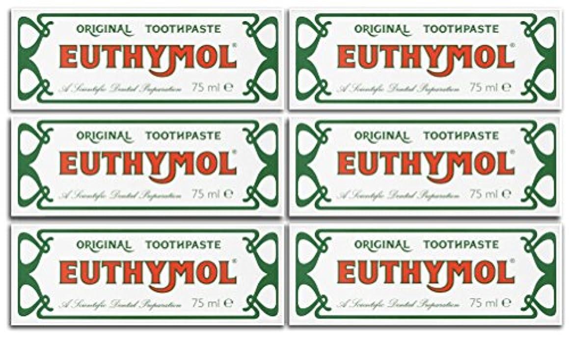 祭司入射リダクターEuthymol Original Toothpaste 75ml (Case Of 6) by Euthymol
