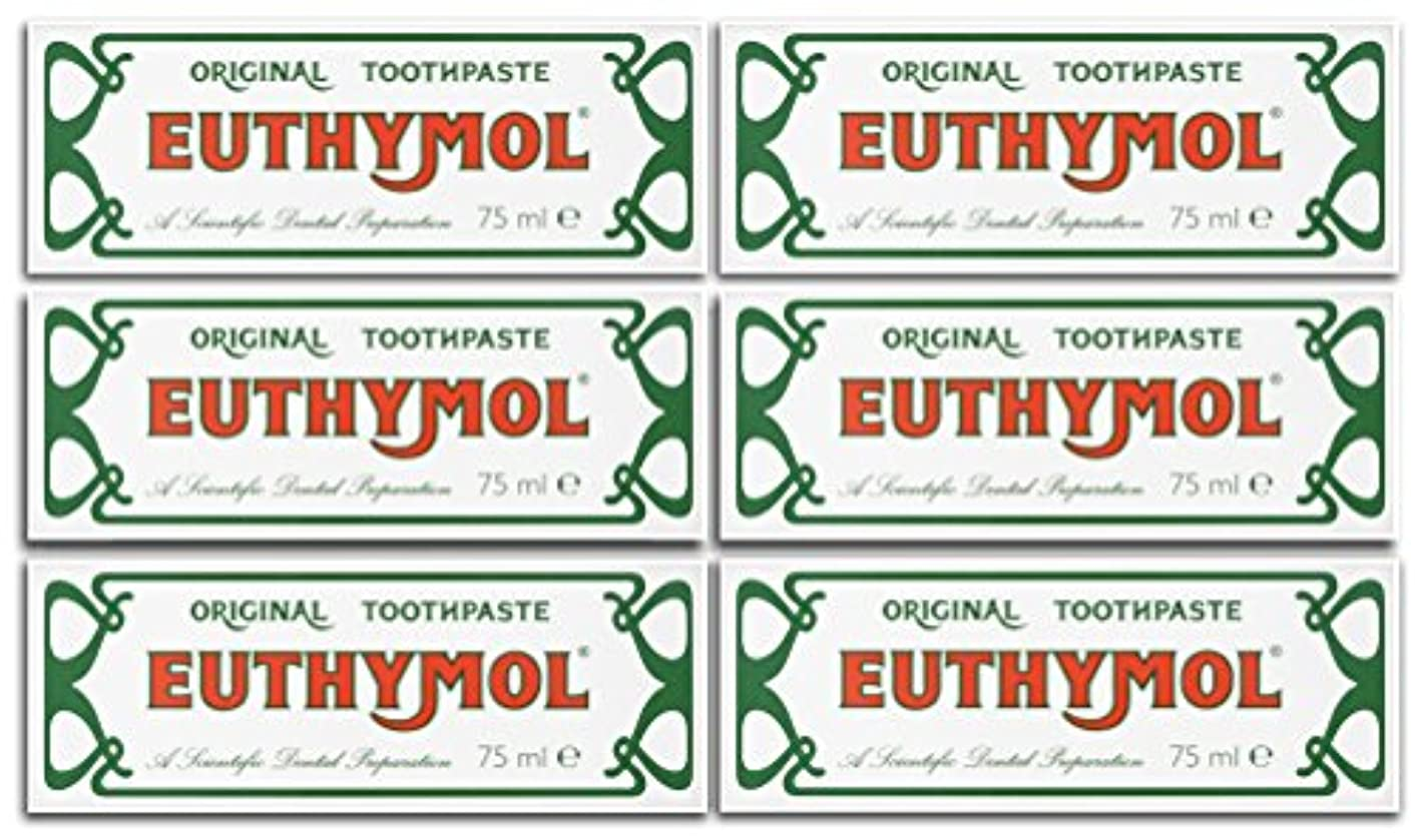 この地震公Euthymol Original Toothpaste 75ml (Case Of 6) by Euthymol