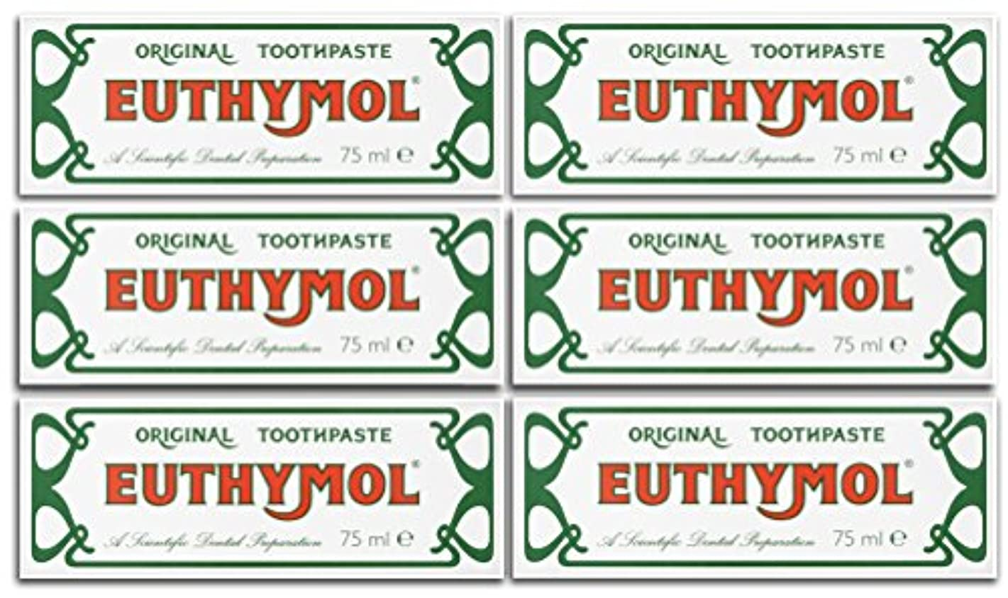 二次植生表示Euthymol Original Toothpaste 75ml (Case Of 6) by Euthymol