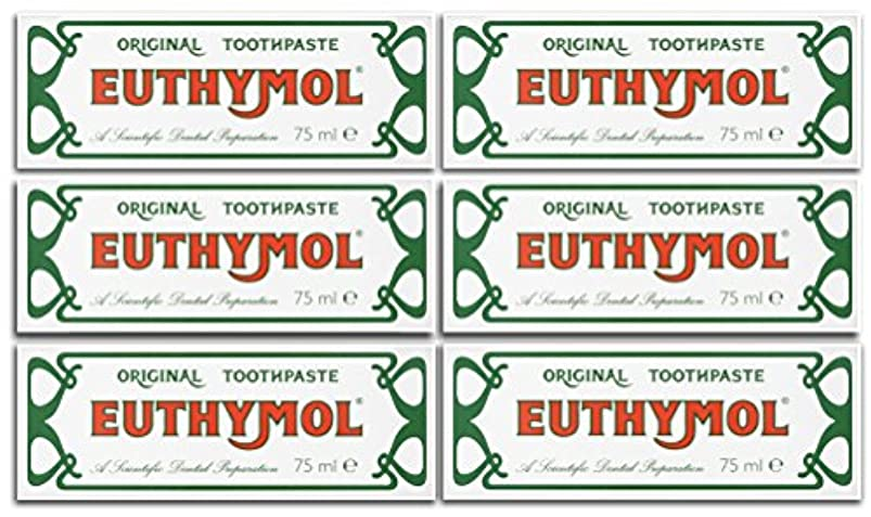 平衡隠クラウドEuthymol Original Toothpaste 75ml (Case Of 6) by Euthymol
