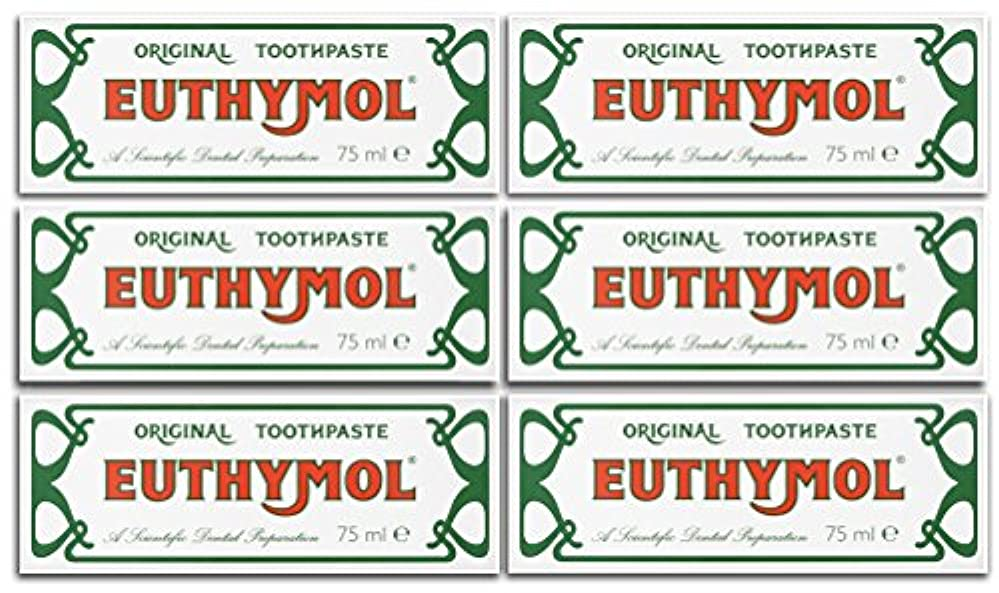 Euthymol Original Toothpaste 75ml (Case Of 6) by Euthymol