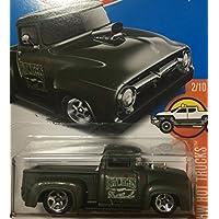 HOT WHEELS ホットウィール カスタム '56 フォード トラック custom ford truck ダークグリーン #215