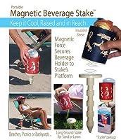価格/ 1) USAプール& Toy–磁気飲料ホルダーStake withクージー