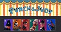 2001 Punch and Judy Stamps in Presentation pack by Royal Mail