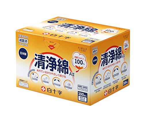 FC 清浄綿AII 100包入 [医薬部外品]...