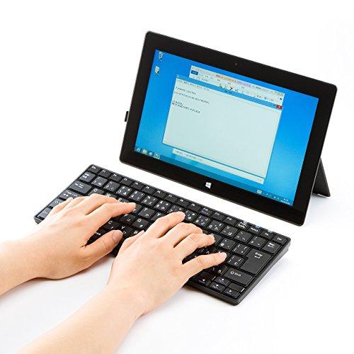 サンワサプライ Bluetoothスリムキーボード SKB-BT23BK 1台