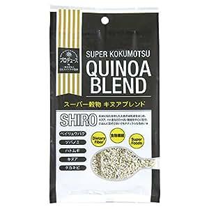 スーパー穀物キヌアブレンド〈SHIRO〉5袋