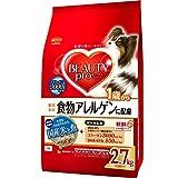 ビューティープロ ドッグ 食物アレルゲンに配慮 1歳から 国産米と魚 2.7kg