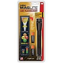 MAG-LITE(マグライト) ミニマグライト 2nd LED 2AA(単三2本) SP2201HY ブラック