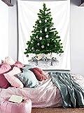 LB クリスマスツリー タペストリー 聖誕飾り おしゃれ壁掛け 装飾布 欧米風 インテリア 多機能 リビング パーティー用 イベント用 お店 個性ギフト 人気 お祝い 100x150cm