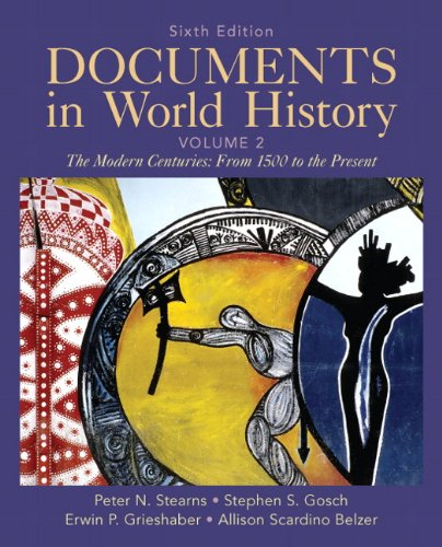 Download Documents in World History, Volume 2 0205050247