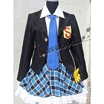 高品質コスプレ衣装 パンティ&ストッキングwithガーターベルト・ストッキング制服  コスチューム、コスプレ