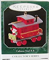 Hallmark Keepsake Ornament Caboose-Noel R.R. 1998 QXM4216【クリスマス】【ツリー】 [並行輸入品]