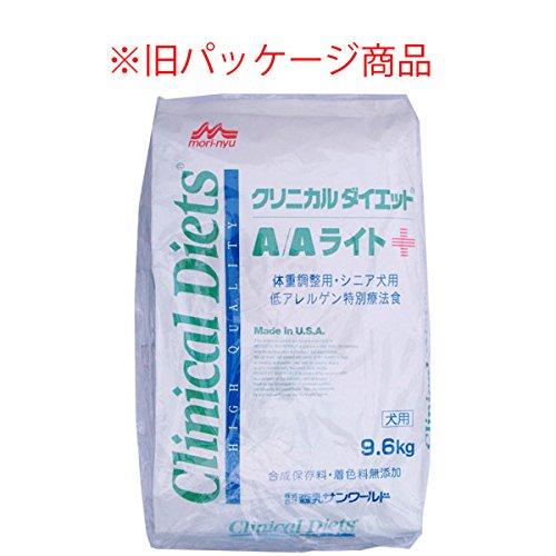 森乳サンワールド クリニカルダイエット A/A ライト 体重調整用・シニア犬用 9.6kg 低アレルゲン特別療法食