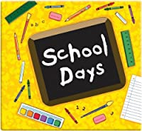 MBI School Days Album, 12 by 12-Inch, Yellow