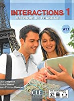 Interactions: Livre + DVD-Rom A1.1 (French Edition) by GaelCrepieux(2013-06-01)