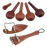 Dovewill  4/4バイオリン用 チンレスト 引き出し板 チューニングペグ テールネイル ファインチューニング
