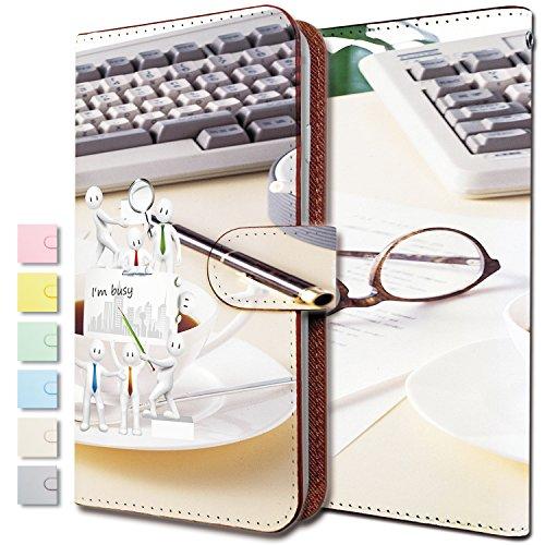 [KEIO ブランド 正規品] iPhone5 ケース 手帳型 ビジネス iPhone 5 手帳型ケース パソコン iPhone5 キーボード アイフォン ケース アイフォーン ケース アイフォン5 ケース IPHONE サラリーマン ittnアイムビジーt0337